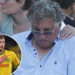 Murió Horacio, el padre del fallecido futbolista Emiliano Sala