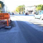 Comienza la obra de repavimentación de calle San Martín y habrá desvíos para 4 ramales