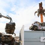 Vuelve la compactadora y se reciclarán casi 600 vehículos