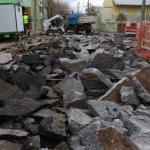 Gregorio Álvarez: 40 días se modifican recorridos de 4 líneas de colectivos por obra pluvial