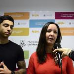 Cuatro jóvenes emprendedores presentaron proyectos tecnológicos y ganaron