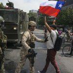 Saqueos, violencia y muerte en Chile durante el estado de emergencia