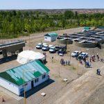 Promesa cumplida: Inauguraron la nueva planta de tratamiento cloacal en Senillosa
