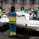 España tuvo un nuevo récord de muertos por coronavirus