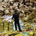 Un empresario detenido por robar dos millones de mascarillas de máxima protección para sanitarios