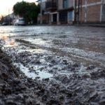 Por la lluvia, el municipio monitorea los pluviales y asiste a familias