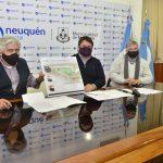 Firman acuerdo para el desarrollo de 816 lotes en la Meseta