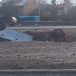 El hielo en la calzada provocó siete accidentes de tránsito en los accesos de la ciudad