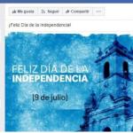 Error de Clarín en el Día de la Independencia generó indignación entre sus lectores