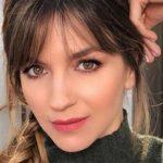 Marcela Kloosterboer sufrió un accidente doméstico y mostró la herida en su cara