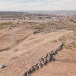Gaido dio inicio al desarrollo de 869 lotes con infraestructura en la meseta