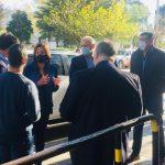 Muñoz recibió a Carreras y Di Tella por la crítica situación del sistema de salud en Cipolletti