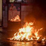 Ola de protestas violentas contra las restricciones por el coronavirus en Italia