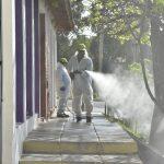 El operativo de desinfección recorrió todos los barrios y el lunes iniciará una nueva ronda