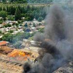 La empresa frutícola Cervi ardió en llamas y sólo quedaron escombros y cenizas
