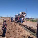 Senillosa: avanza la construcción del nuevo cementerio