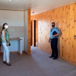 Se presentaron las primeras viviendas institucionales para policías en Añelo