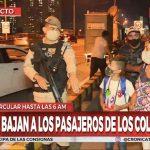 Prefectura bajó del colectivo a una familia con menores de edad y los dejó arriba del Puente Pueyrredón