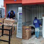 Continúa el secuestro de mercaderías por estafa con tarjetas de crédito a comerciantes