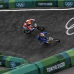 Video: Bonadeo no se contuvo ante brutal caída y eliminación del argentino en BMX
