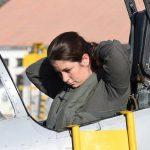 La primera piloto de combate mujer denunció acoso laboral