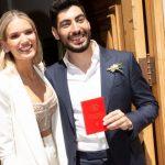 Facundo Moyano y Eva Bargiela se casaron por Civil