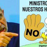 Un tuit de Aníbal Fernández contra el dibujante Nik generó polémica y terminó en una denuncia