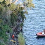 Trágico accidente: cayó un auto al lago Lácar y murió una adolescente de 16 años